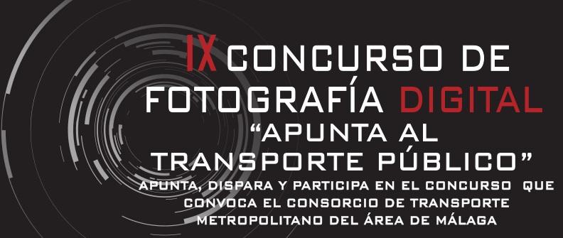 IX Concurso de Fotografía Digital Apunta al Transporte Público Consorcio Transporte Metropolitano Área de Málaga