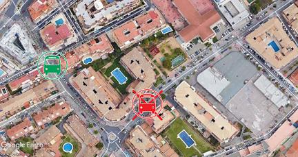 Traslado parada CARE M-222 sentido Fuengirola-Mijas El Barrio